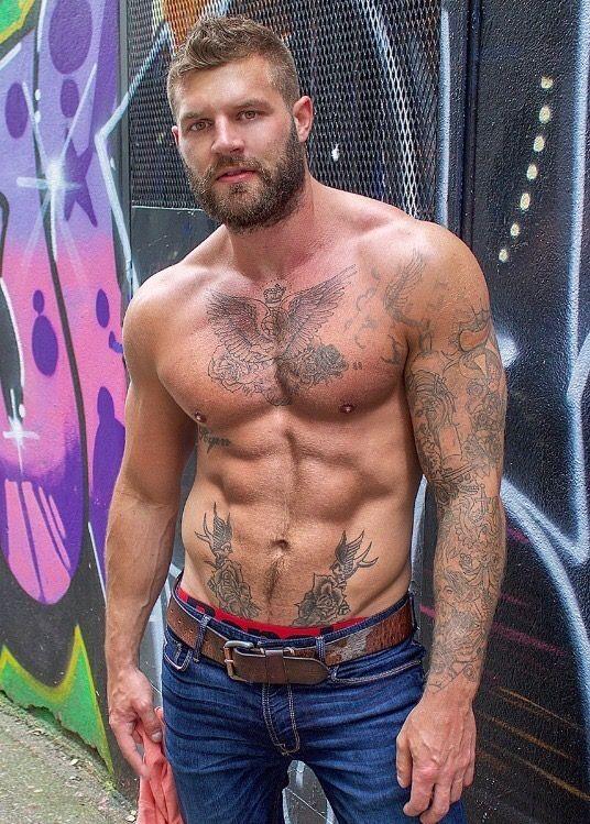 Pin on Sexy Tattooed Guys