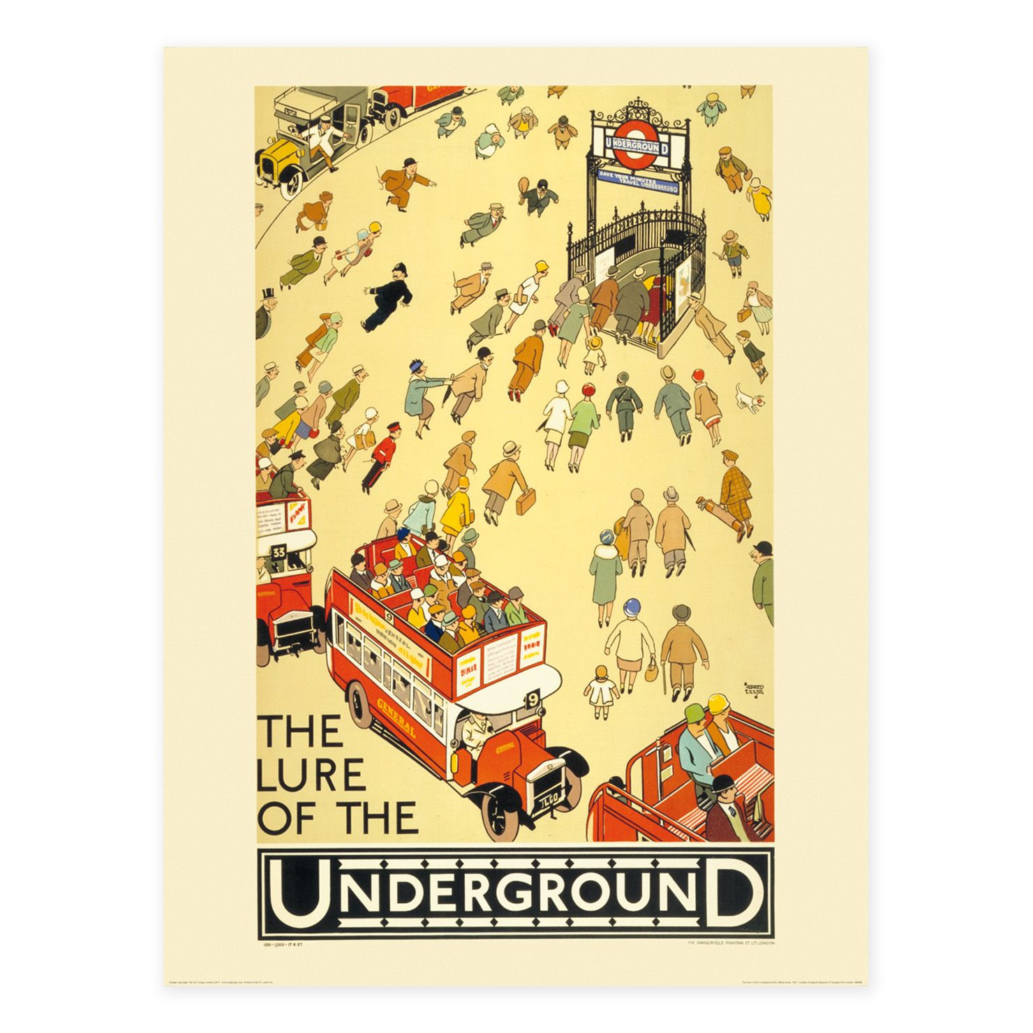 ACHICA | Wall Art Wishlist - THE LURE OF THE UNDERGROUND, Unframed ...