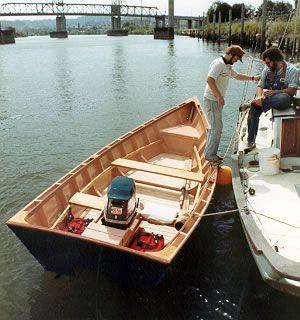 Custom wood boatbuilding 21' Planing Dory interior photos   Boatbuilding   Boat building ...
