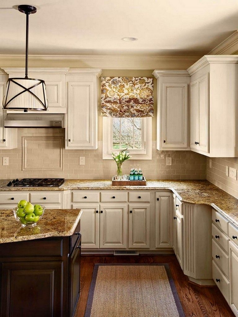 120 easy and elegant cream colored kitchen cabinets design ideas page 16 of 122 уютная квартира on kitchen ideas cabinets id=26045