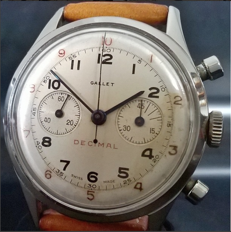 9f5f5a4e58b FS  Gallet Decimal with original dial