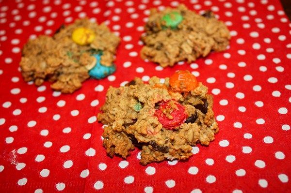 A while back, I posted on the Facebook Recipe Club asking what everyone's favorite cookie was. Monster cookie came up a few times, and to be honest, I had no idea what it was! But when I was told, I realized that I too, would be a Monster Cookie fan, just based on the ingredients …
