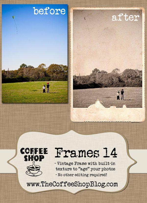 Coffeeshop Vintage Frames 14 Vintage Frames Photoshop Design Vintage Photo Frames