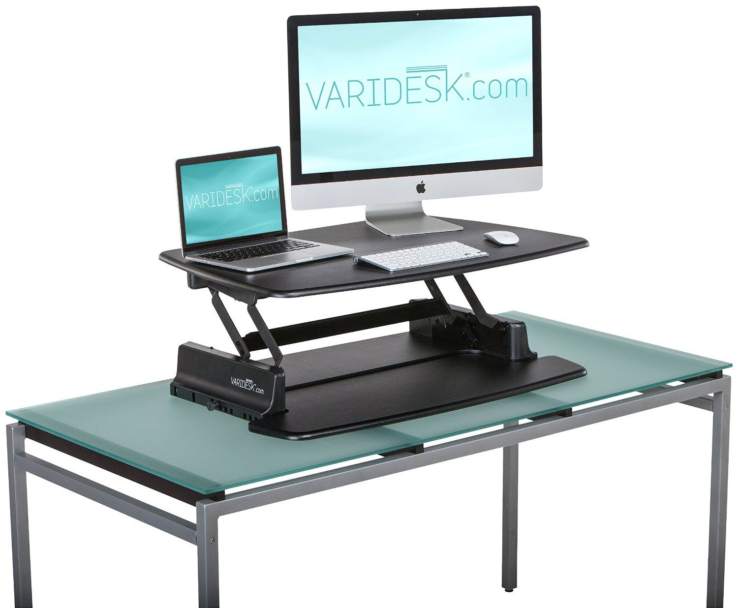 Amazoncom VARIDESK Pro 36 HeightAdjustable Black Desktop