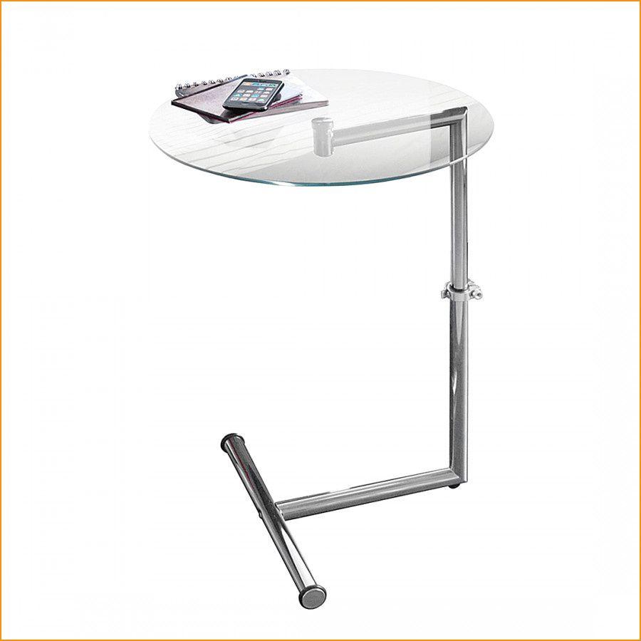 Beistelltisch Glas Metall Silber In 2020 Side Table Home Decor
