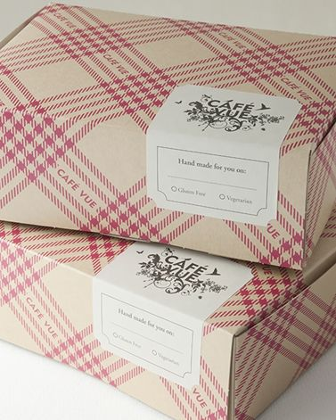 Cafe Vue Lunch Boxes - wonderful treat for lunch or a picnic