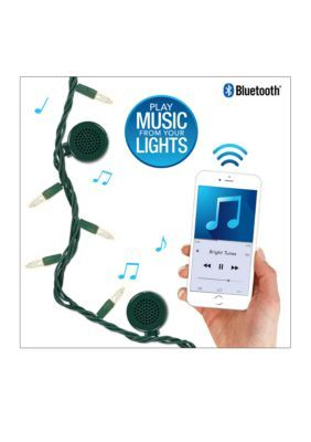 Bluetooth Speaker String Lights Innovative Technology Bright Tunes Traditional Incandescent String