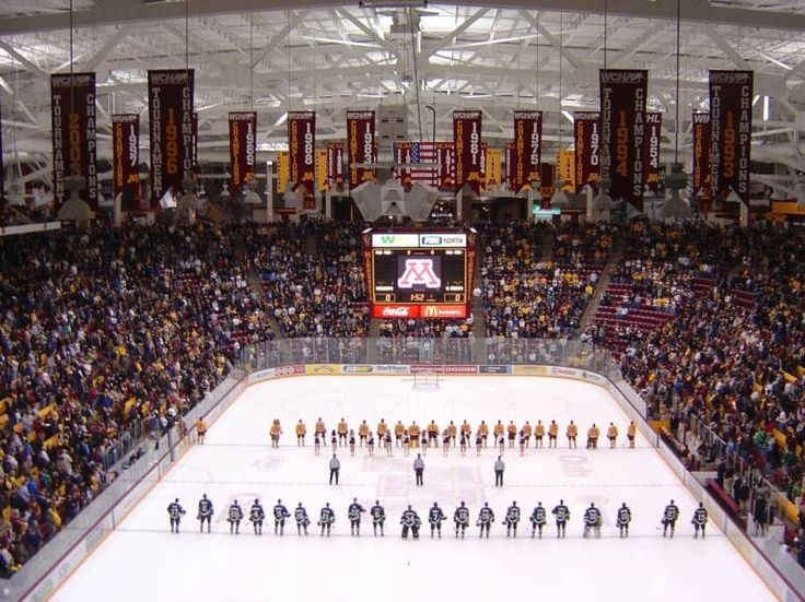 Pin by Scott Johnson on Minnesota Hockey, Hockey arena