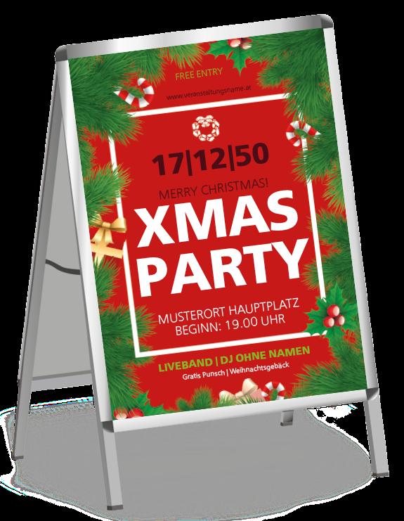 Poster Fur Weihnachtsveranstaltungen Aller Art Bei Uns