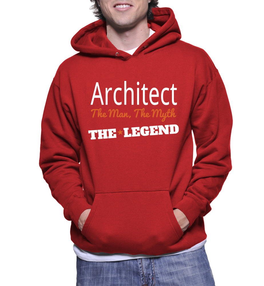 Architect The Man, The Myth, The Legend Hoodie