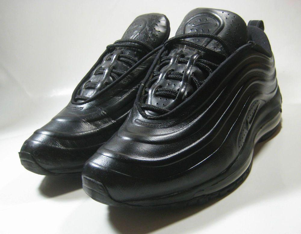 nike air max 97 black leather