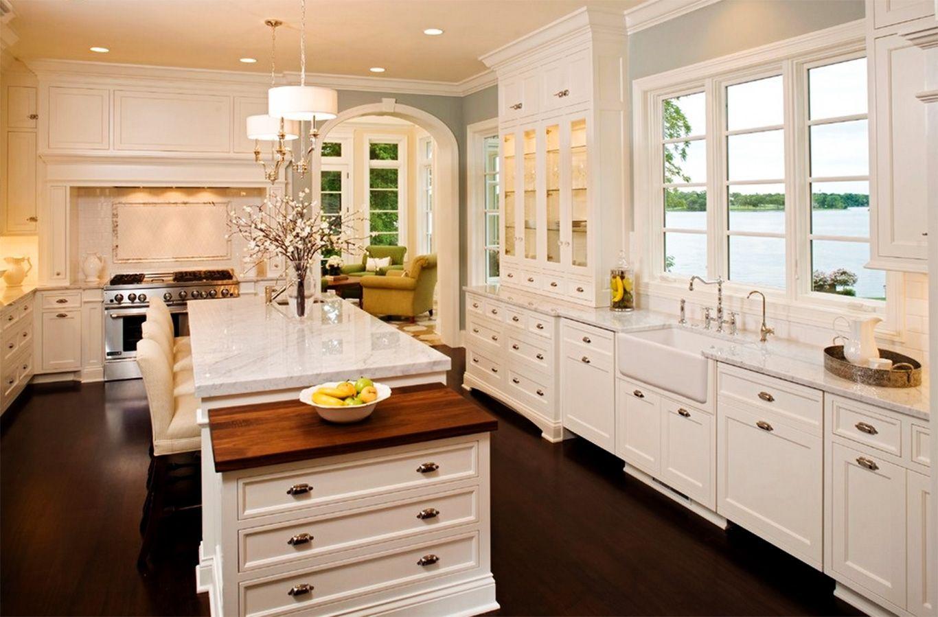 Küche Farben Mit Weißen Schränke - Küchen | Hausmodelle | Pinterest ...