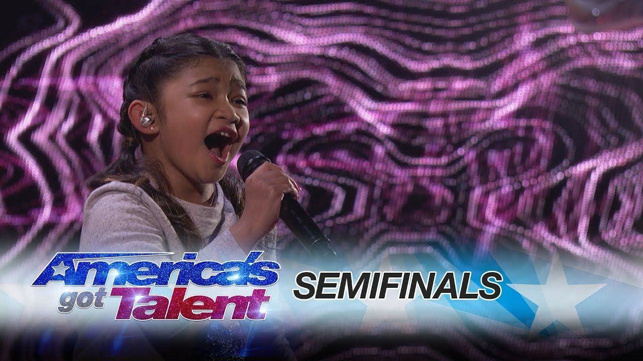 Angelica Hale 10 Year Old Singer Blows The Audience Away