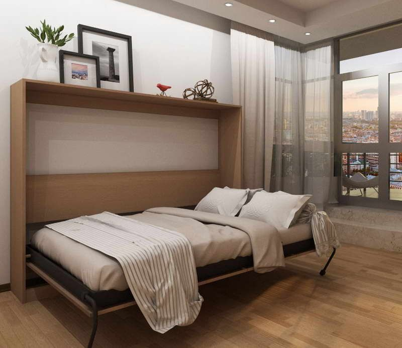 Ikea Hacker Murphy Bed With Frame Photo Camas Abatibles