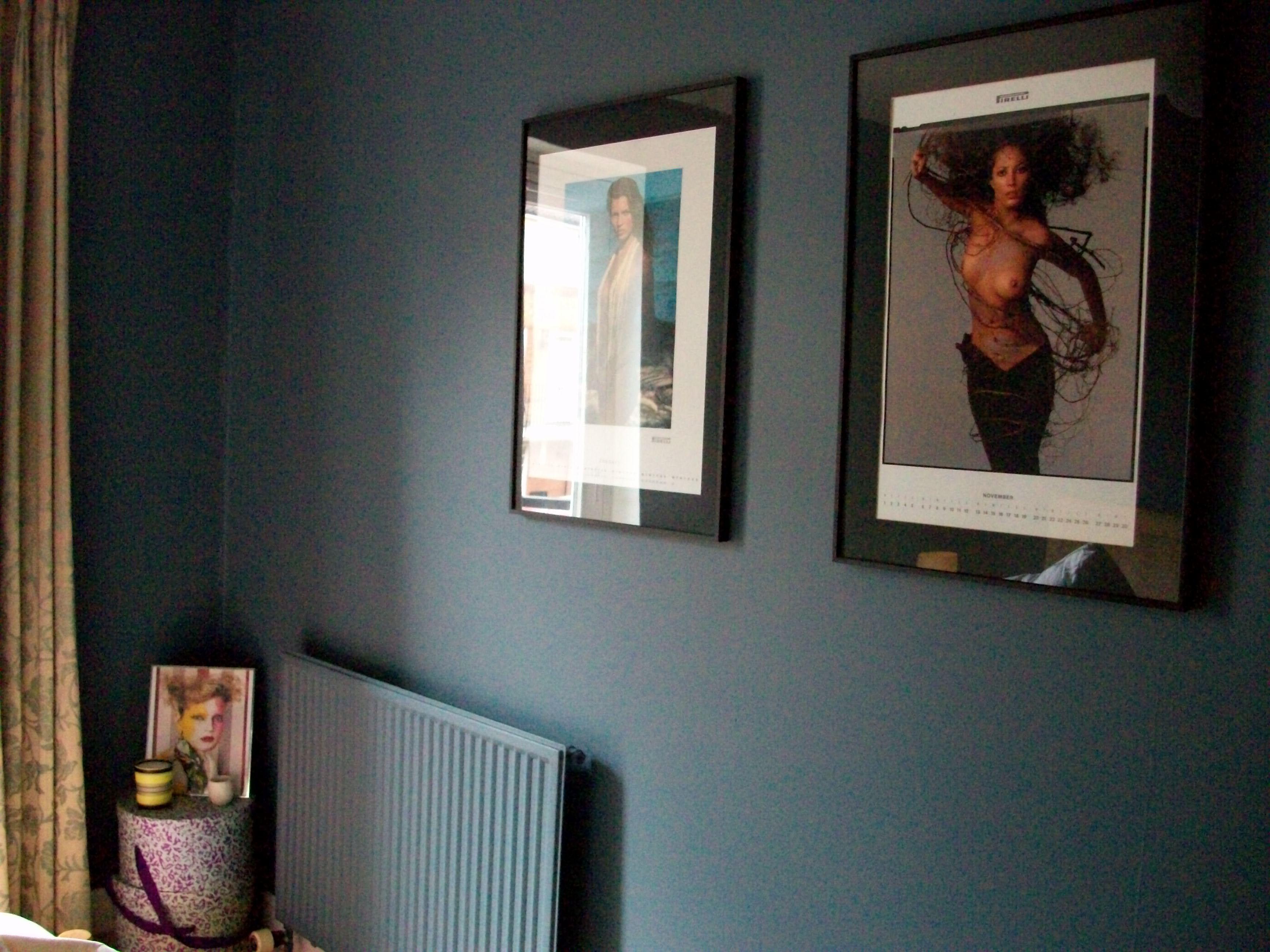 Blue New Bedroom Walls Dulux Paint Steel Symphony 1