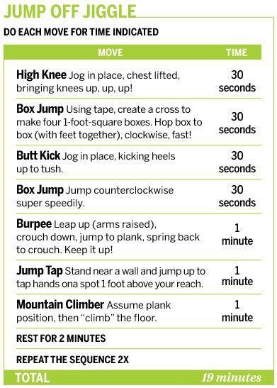 Jump off jiggle!