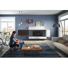 Composition de meuble TV LAGO design #lagointeriordesign ...