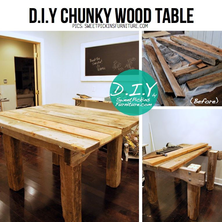 Reclaimed Wood Project Ideas  DIY Ideas & Tutorials for Salvaged Wooden  Beams