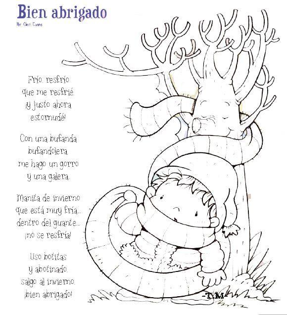 bienabrigadojpg  POESAS  Pinterest  Poesa Invierno y Laminas
