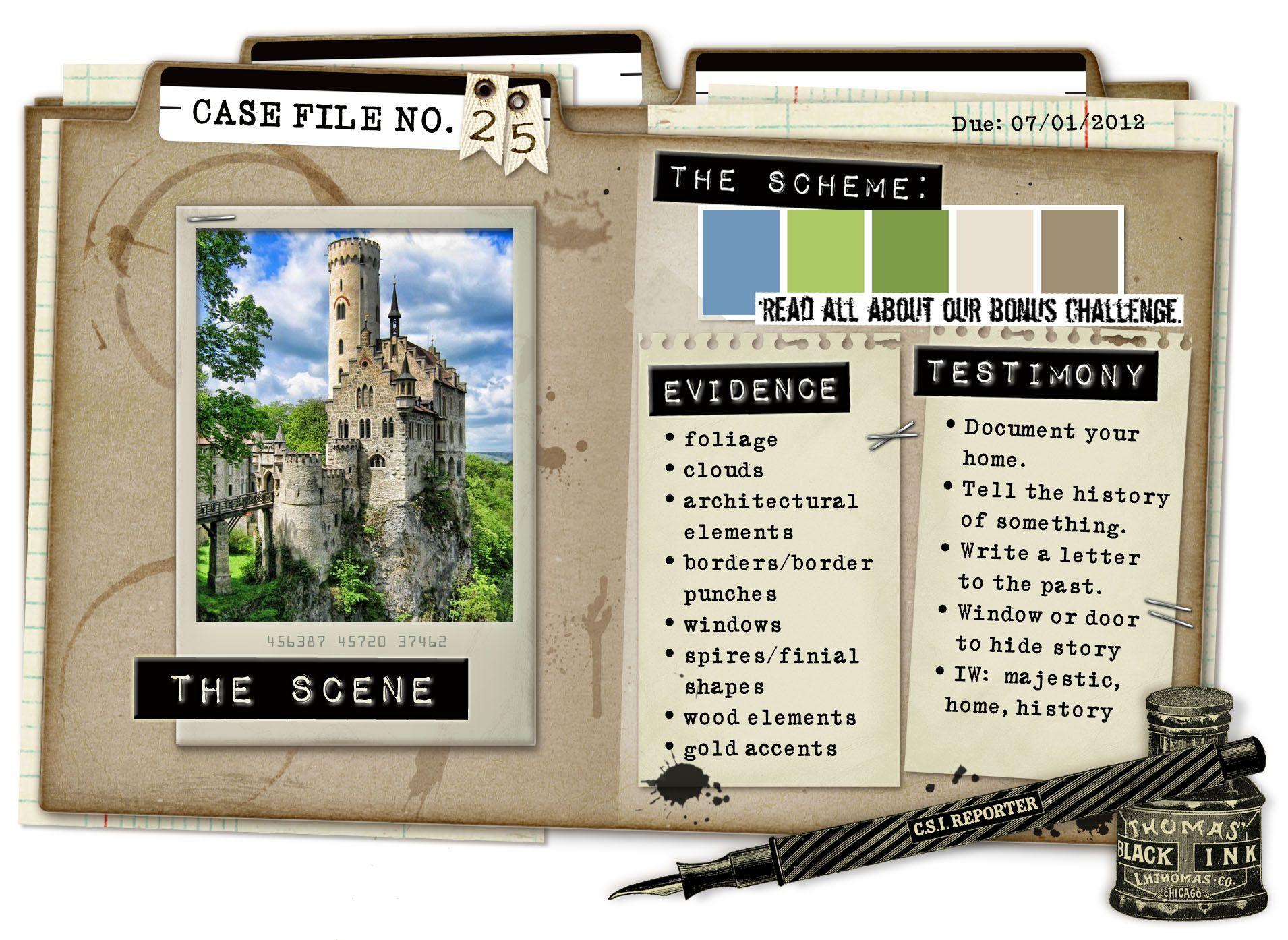 Case File No. 25 {Case Closes on July 1, 2012} - CSI: Color, Stories, Inspiration