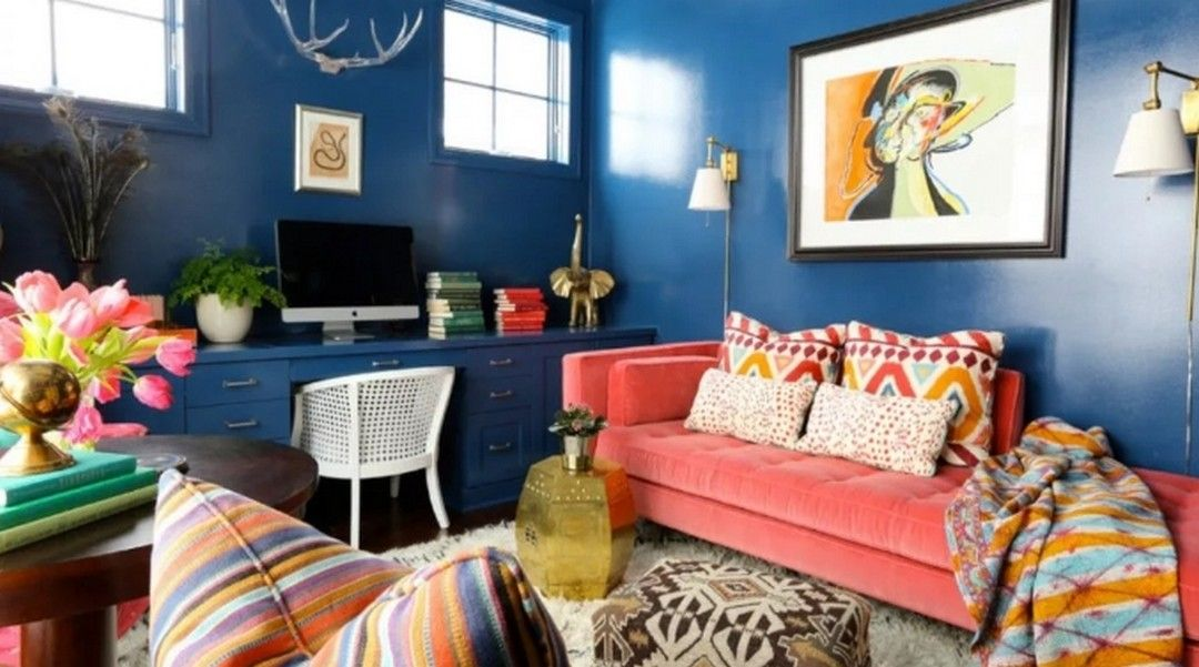 7 Colorful Home Design Ideas Eclectic In 2020 Colourful Living