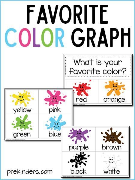 image relating to Color Activities for Preschool Printable named Beloved Colour Graph with Print Slice Printable preschool