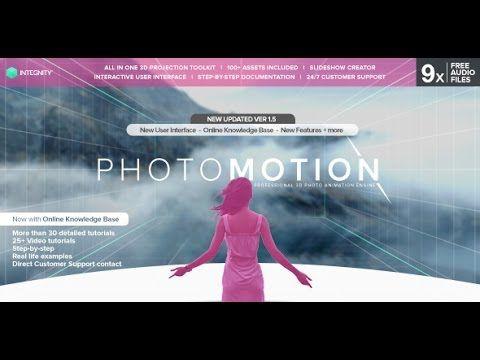 PhotoMotion Professional D Photo Animator After Effects Template - Buy after effects templates