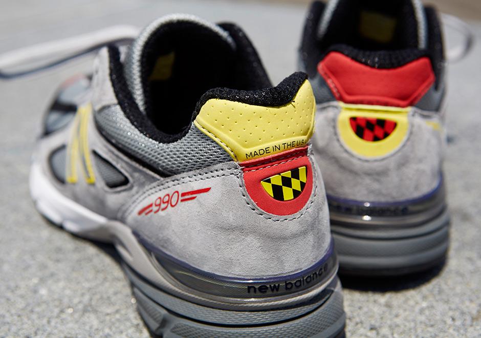 DTLR x New Balance 990V4 DMV - Sneaker