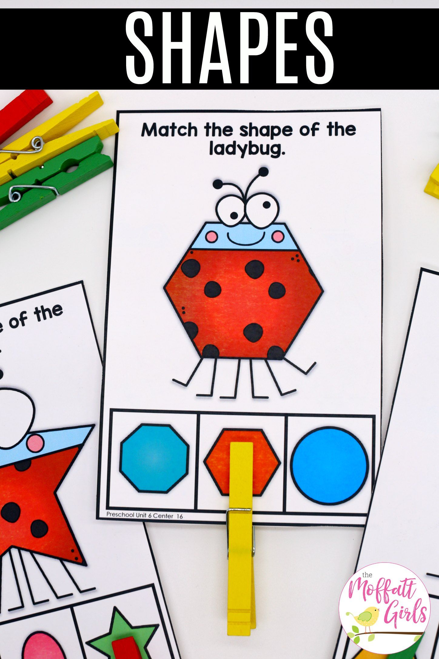 Preschool Math Shapes With Images