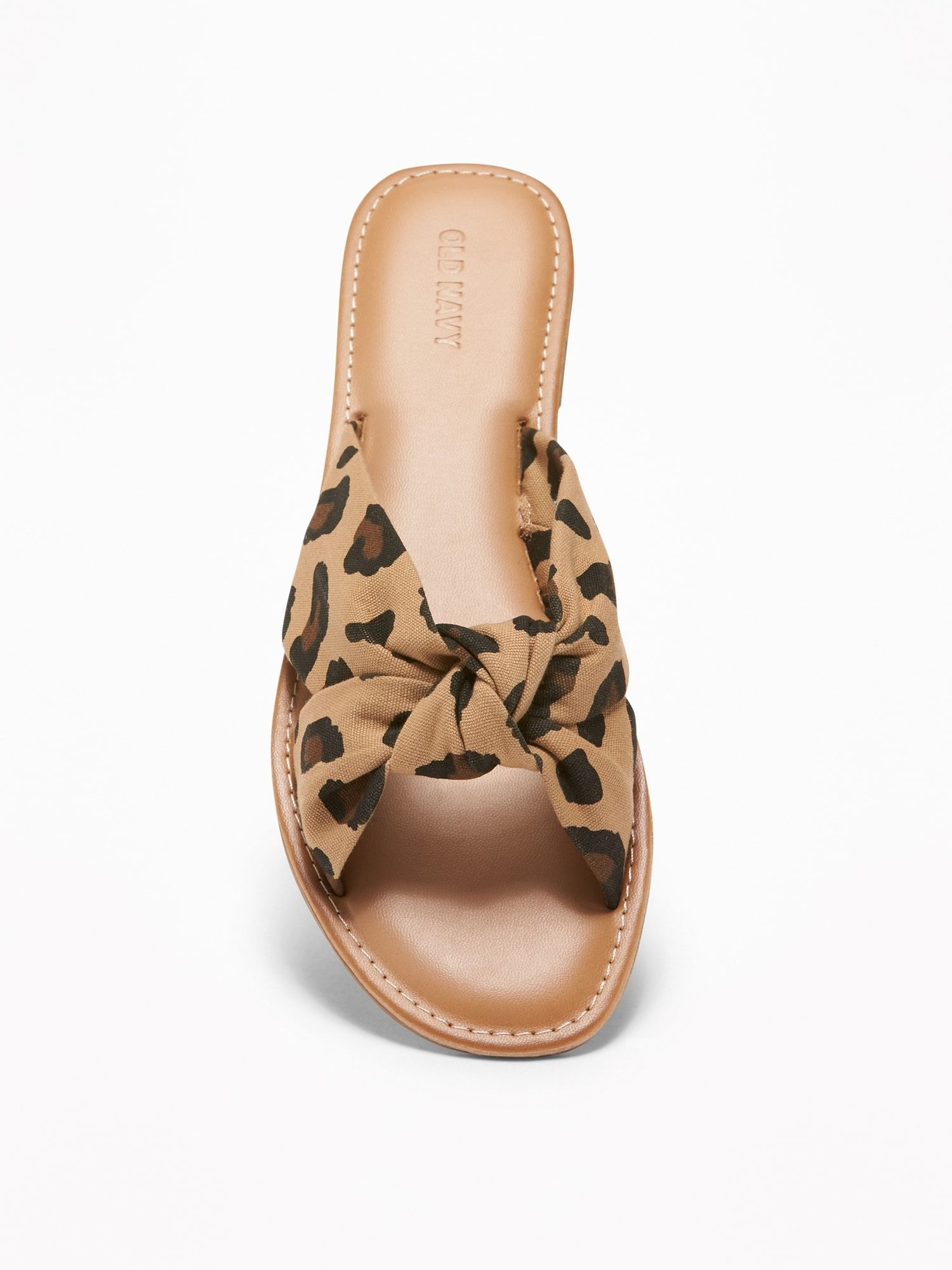 KnottedTwist Slide Sandals for Women Old Navy Womens