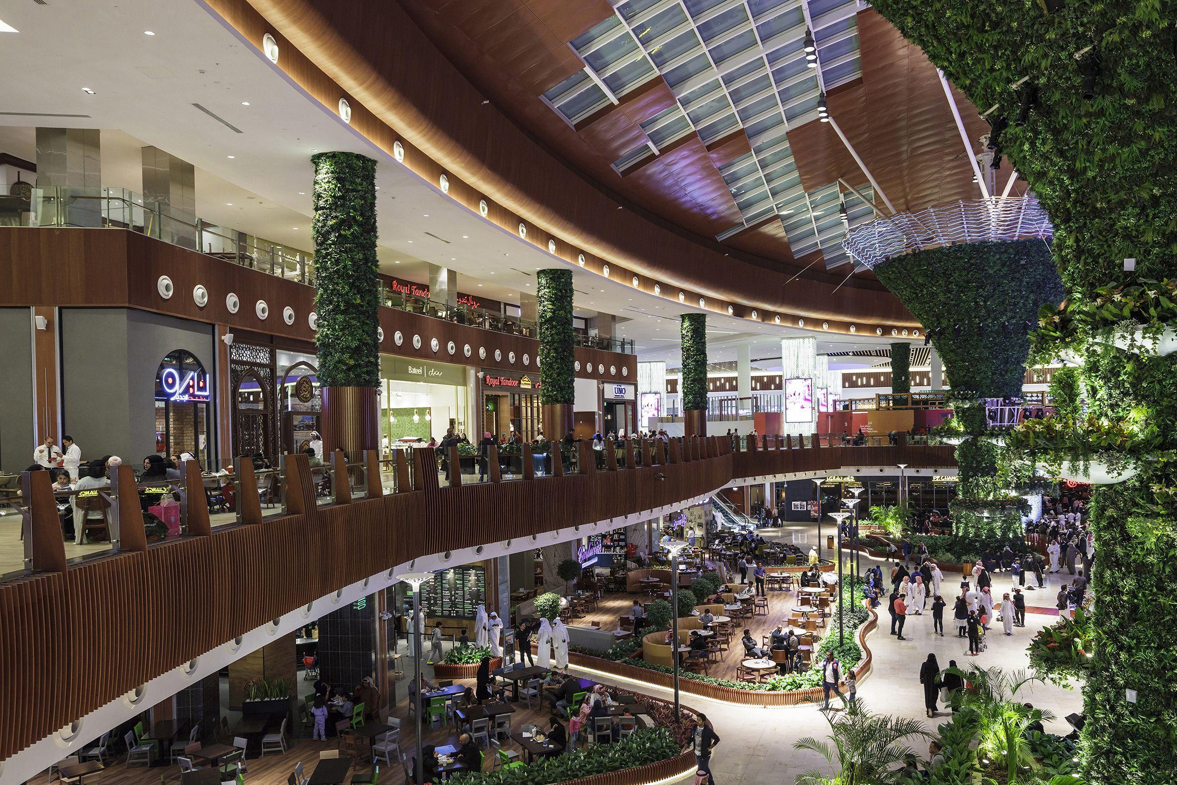Mall of qatar doha lighting design: tkondos associates architects