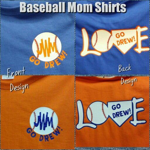 Baseball Mom Shirts $22