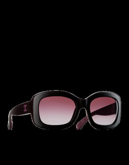 559109bdaa Gafas de sol rectangulares en fibra... - CHANEL | Sunglasses | Gafas ...