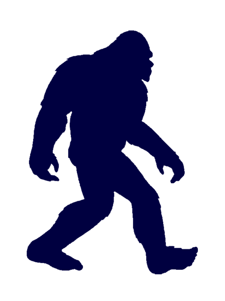 bigfoot clip art big foot pattern pinterest rh pinterest com bigfoot clip art free bigfoot footprint clipart