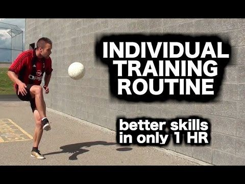 a993c0f92f870 How to practice soccer by yourself ▻ How to train for football ▻ Soccer  drills and