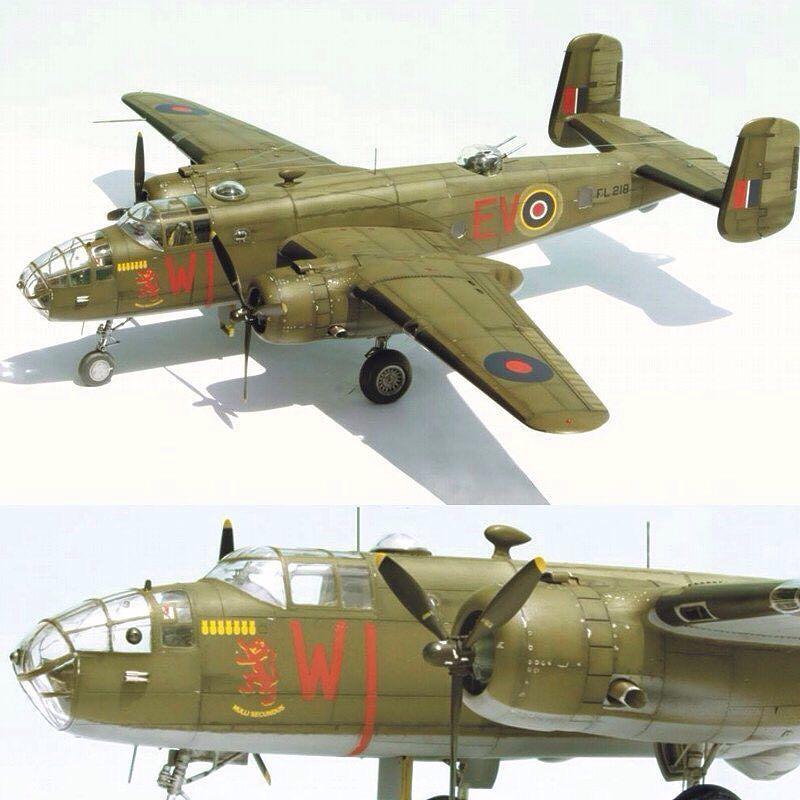 1/48 British B-25 Mitchell  PART1 By Etienne du Plessis From