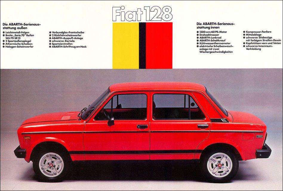 Fiat 1977 Fiat 128 Fiat Fiat Abarth