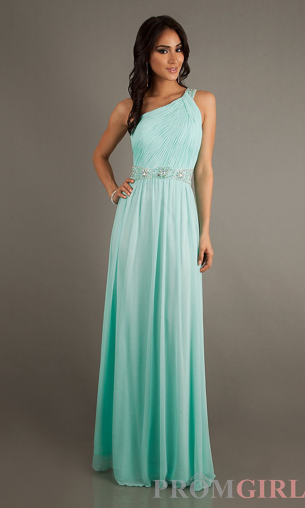 2013 Temptation Prom Dress, One Shoulder Evening Gowns
