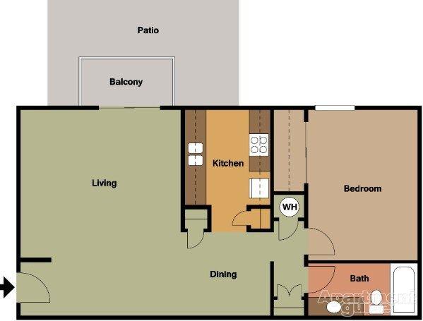 Park West Apartments | apartments | Park, Floor plans