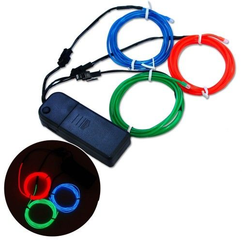 Strobing RGB Red Green Blue Brand new 3x 1.5 metres Electro ...