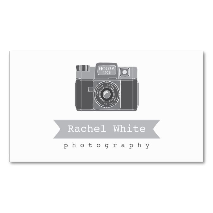 Black and White Vintage Camera Biz Card Double-Sided Standard Business Cards (Pack Of 100). This is a fully customizable business card and available on several paper types for your needs. You can upload your own image or use the image as is. Just click this template to get started!