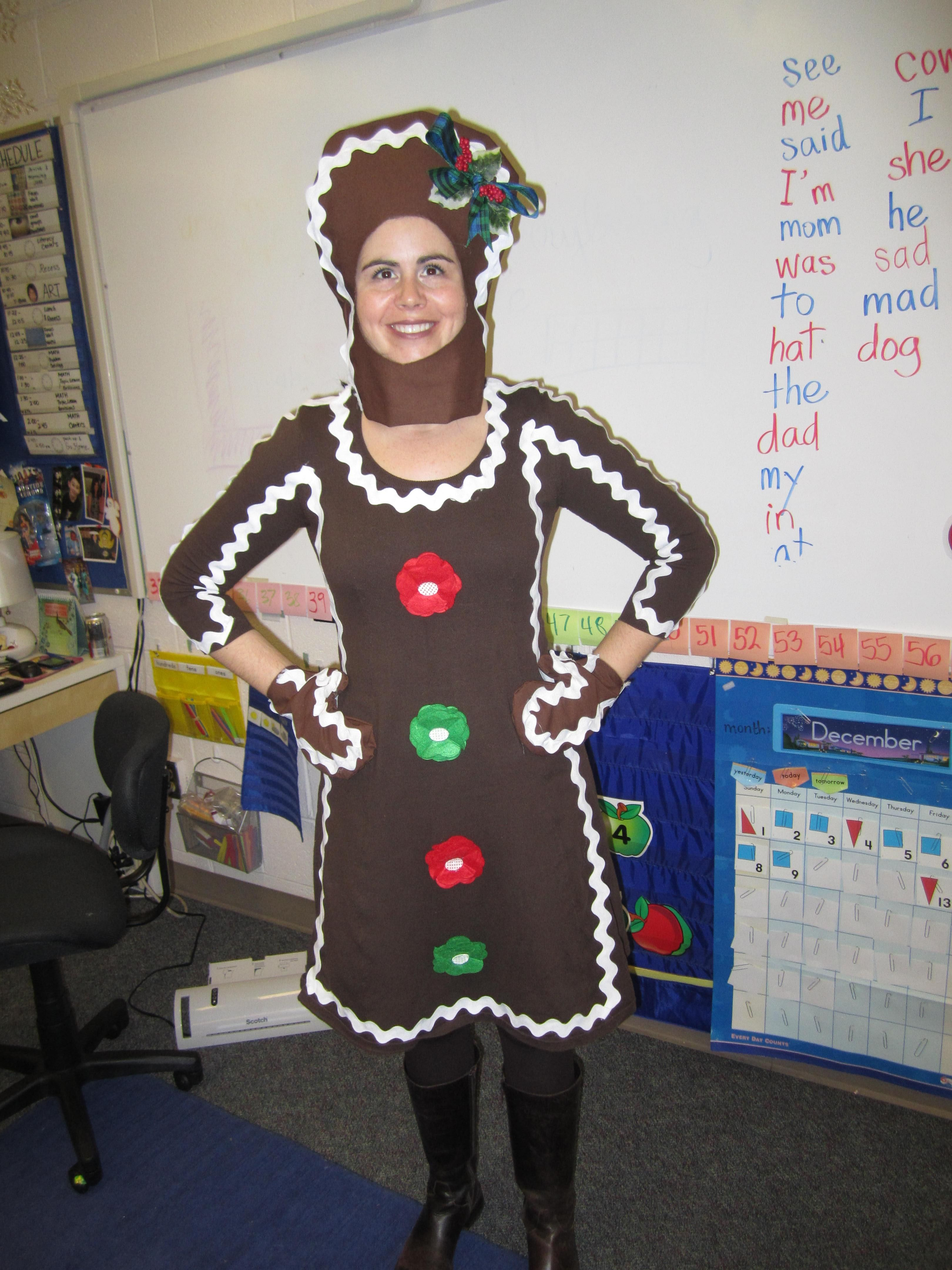 Gingerbread Girl for when we make gingerbread houses