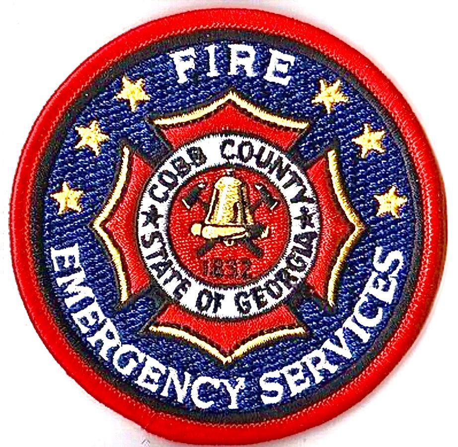 Cobb County Georgia Fire Patch Https Insigniaonline Es Insignias Hombreras Emblemas