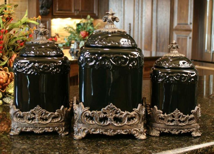 Drake Kitchen Canisters