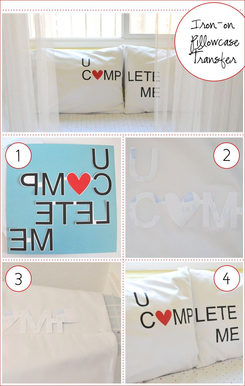 You Complete Me Pillow Cases (Tutorial)