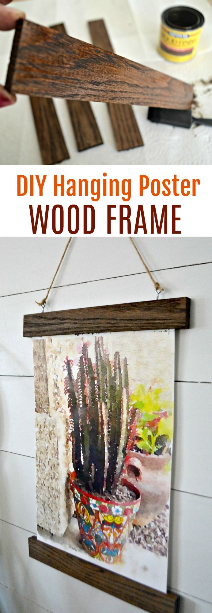 Hereus how to make your own diy midcentury modern inspired wall art