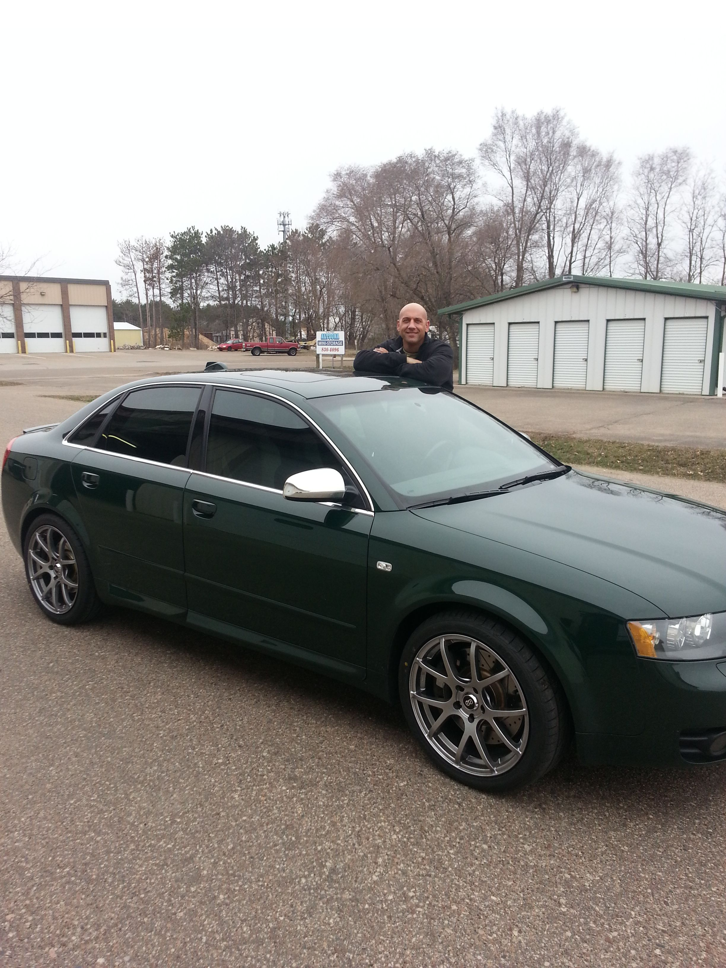 Another happy customer~!  This scorpion film will make your ride look better!!!!