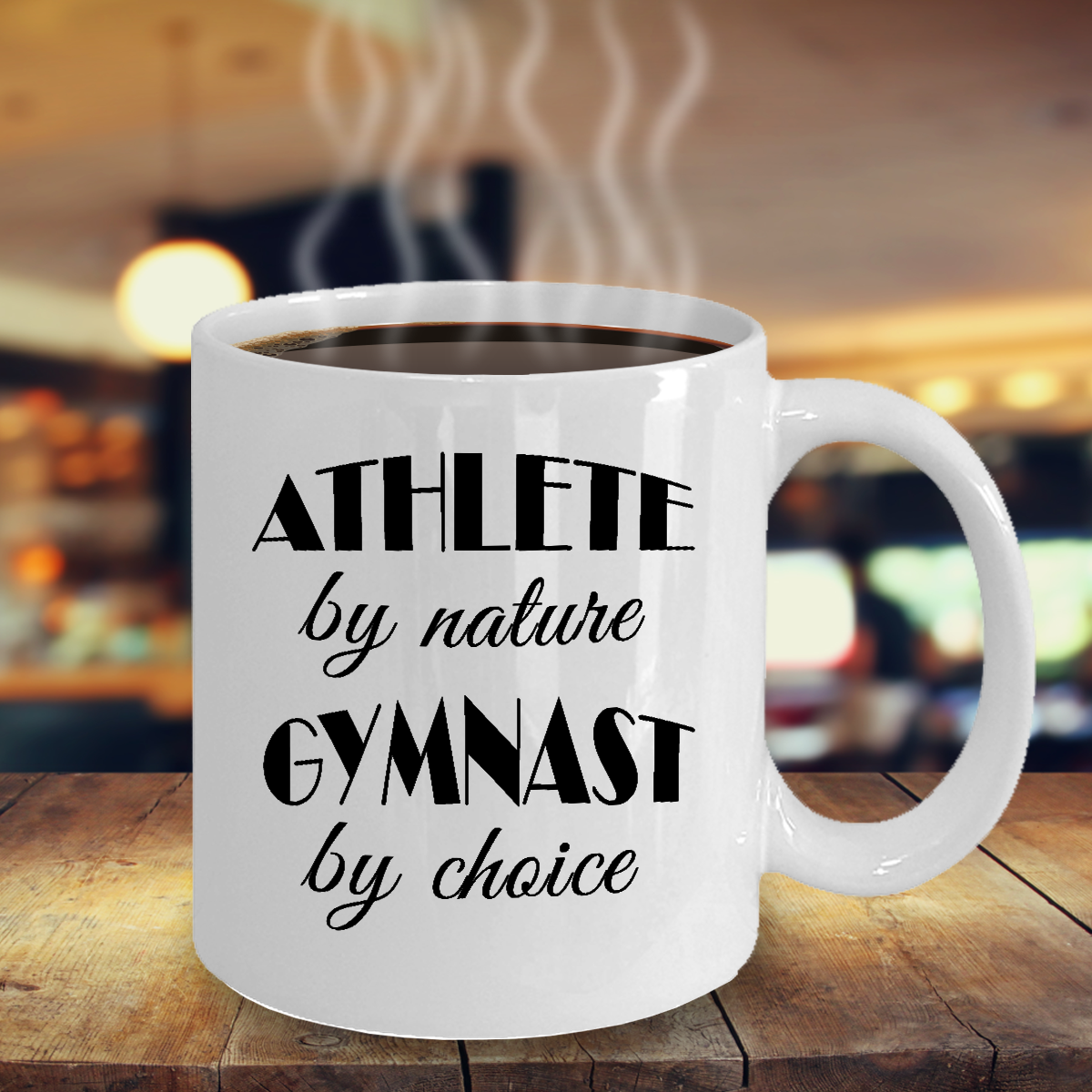 Gymnastics Love Mug - #Gymnast by Choice - Cool #Birthday ...