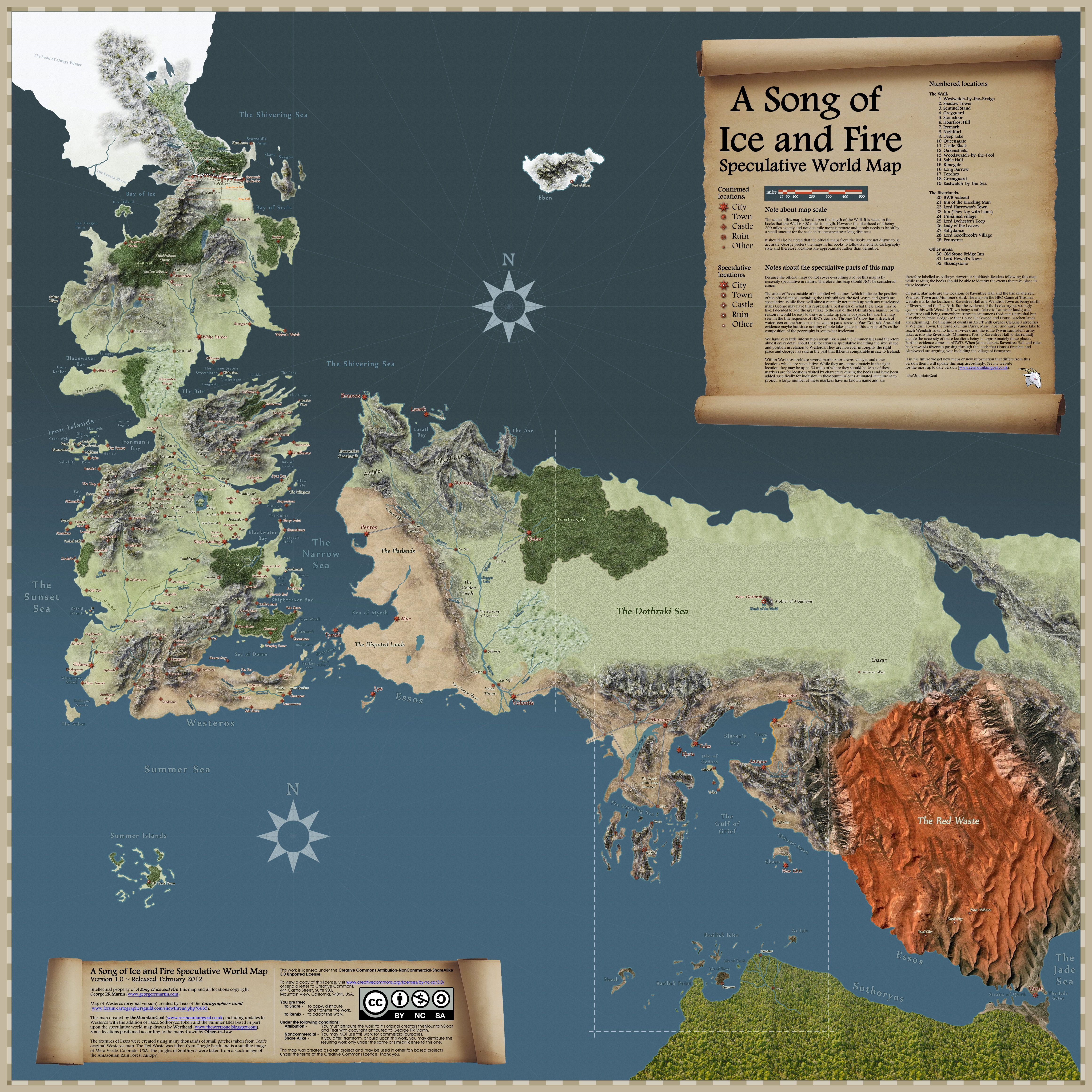 Game Of Thrones World Map Game Of Thrones Map Map Games