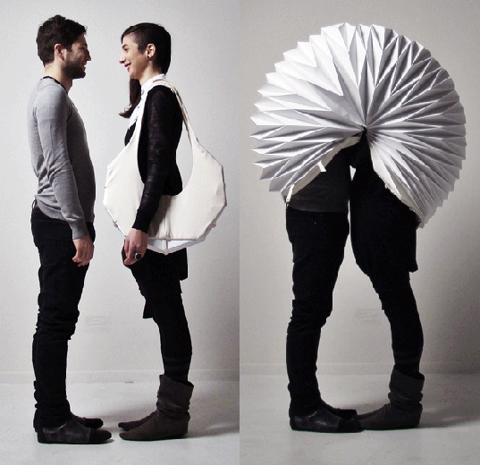 Image detail for -design, green design, wearable architecture, architectural clothing ...
